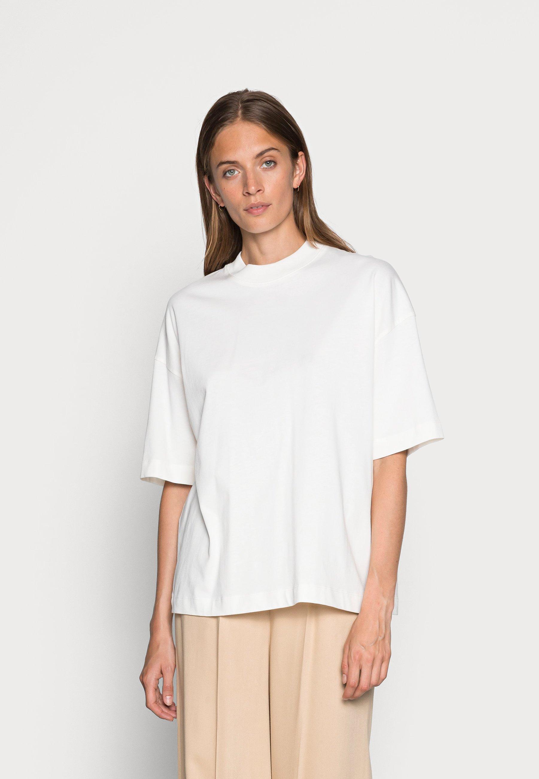 Damen SLFRELAXCOLE  HIGH NECK TEE  - T-Shirt basic