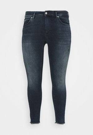 CARWILLY LIFE RAW  - Jeans Skinny Fit - dark blue denim