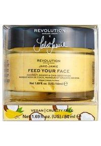 Revolution Skincare - REVOLUTION SKINCARE X JAKE – JAMIE COCONUT, MANGO & CHIA SEED RADIANT GLOW FACE MASK - Masque visage - - - 2