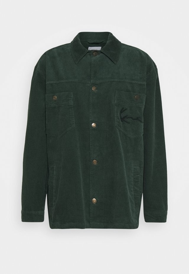 SIGNATURE JACKET - Summer jacket - green
