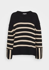 House of Dagmar - MAZZY ROUNDNECK - Maglione - black - 4
