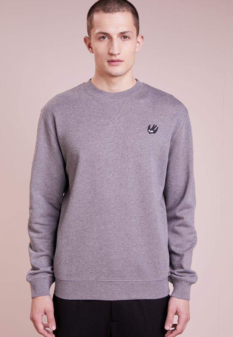 McQ Alexander McQueen - COVERLOCK - Sweater - stone gray melange