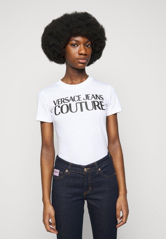 TEE - Print T-shirt - optical white