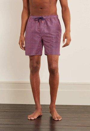 Swimming shorts - metallic red