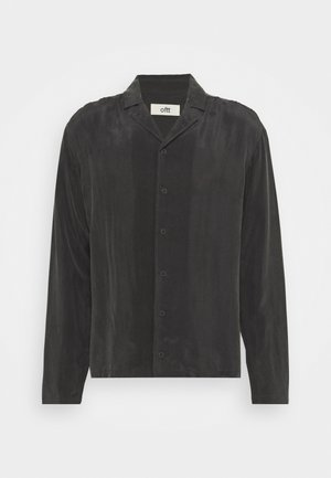 GRANDPA COOL VEGAN SHIRT SHORT SLEEVED - Hemd - charcoal black
