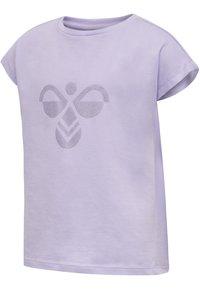 Hummel - Print T-shirt - pastel lilac - 1