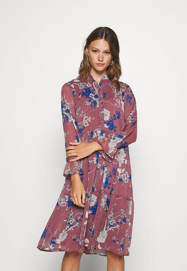 VMKATINKA DRESS  - Day dress - rose brown/katinka