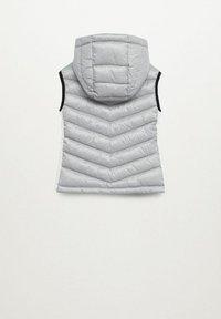 Mango - SPVEST - Waistcoat - gris chiné moyen - 1