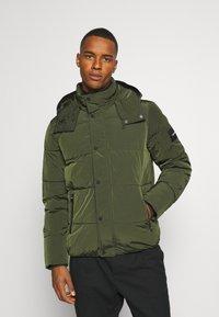 Calvin Klein - CRINKLE  - Winter jacket - green - 0
