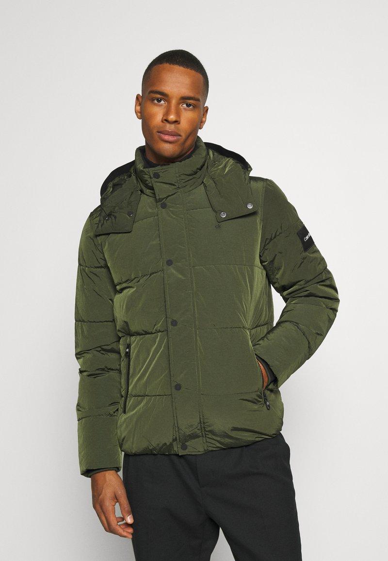 Calvin Klein - CRINKLE  - Winter jacket - green
