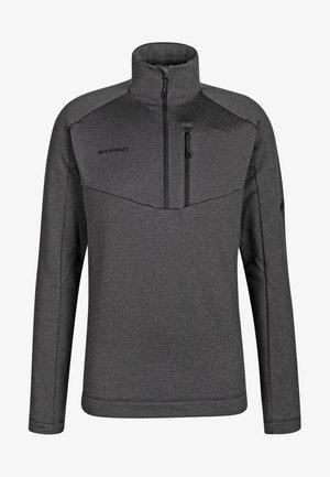 Sweatshirt - black melange