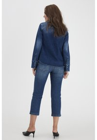Dranella - DRLULU 1 TRACY JEANS - PATCHED JEANS - Slim fit jeans - mid blue denim - 3
