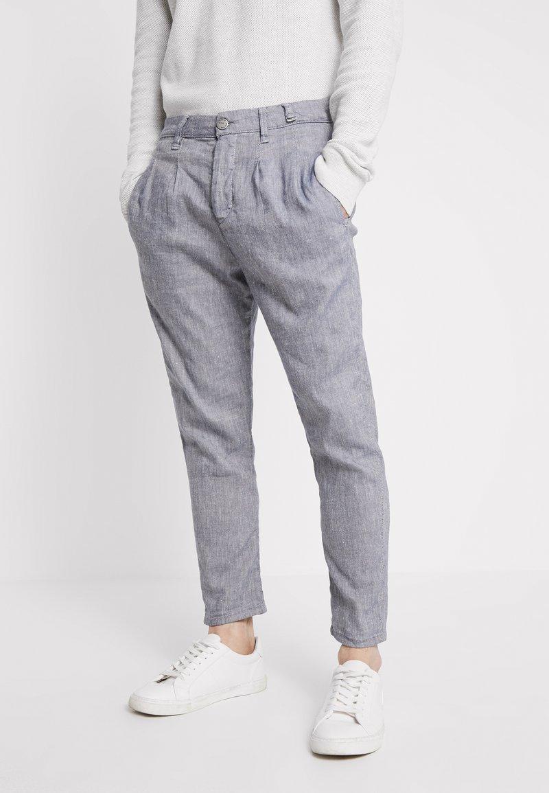 Gabba - FIRENZE LITHE - Pantalon classique - blue