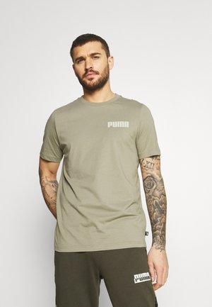 MODERN BASICS TEE - T-shirt - bas - vetiver