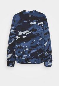 G-Star - LOOSE FIT CAMO CREWNECK - Sweater - faze blue multi - 8
