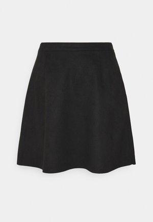 VIFADDYPEN SKATER SKIRT - A-line skirt - black