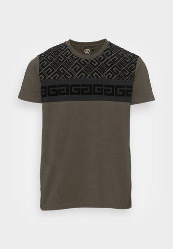 KADOS TEE - T-shirt con stampa - khaki