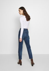 Madewell - PERFECT VINTAGE BUTTON FRONT - Straight leg jeans - barnsdale wash - 2