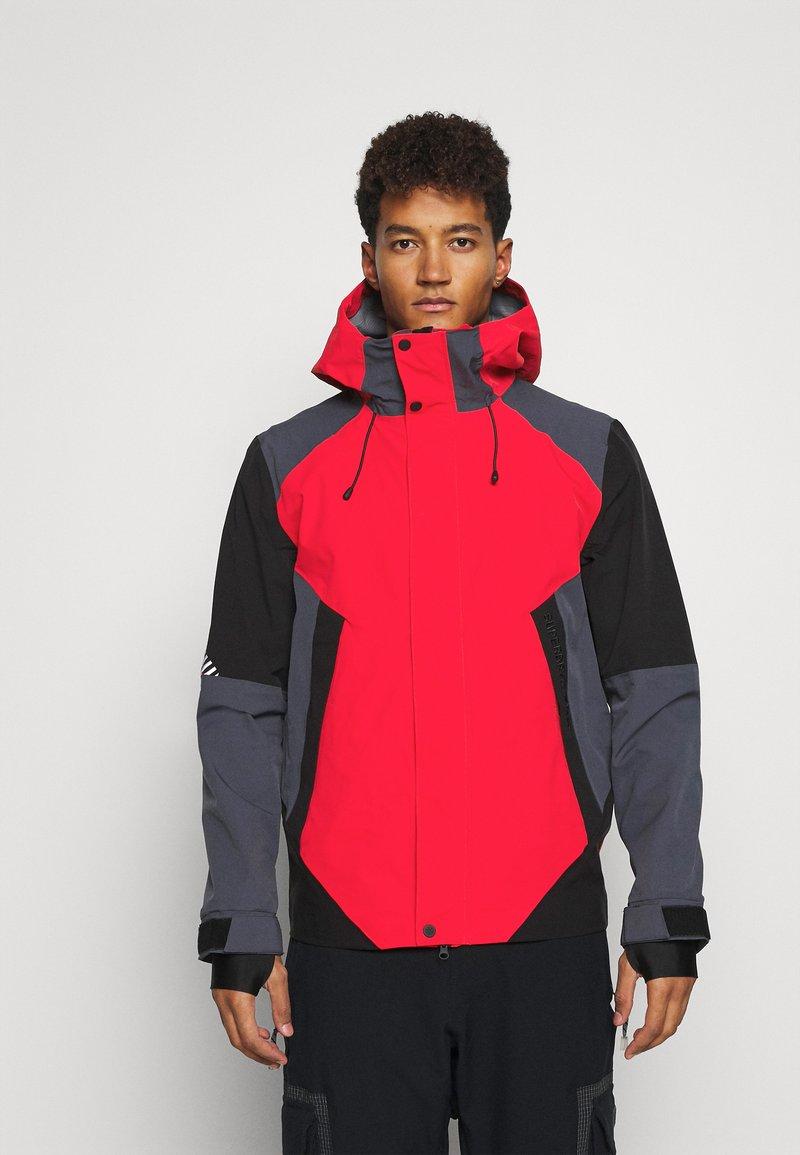 Superdry - CLEAN PRO SHELL JACKET - Lyžařská bunda - apple red