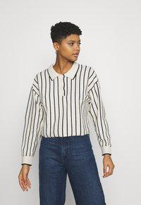 Weekday - HELGA - Jumper - white/ black stripe - 0