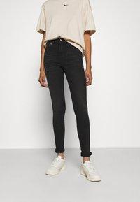 Dr.Denim - LEXY - Jeans Skinny Fit - black mist - 0