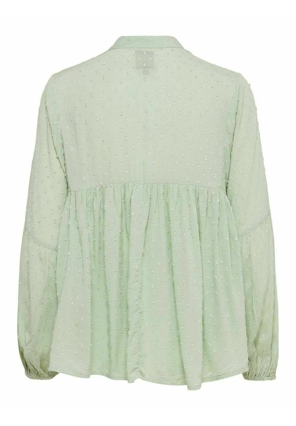 ONLY Bluzka z długim rękawem - desert sage/oliwkowy UEDS