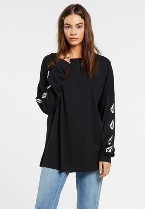 DEADLY STONES LS - Print T-shirt - black