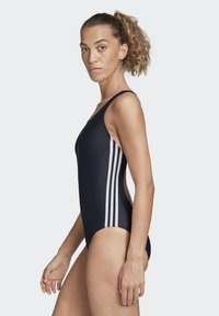 adidas Performance - ATHLY V 3-STRIPES SWIMSUIT - Swimsuit - blue - 3