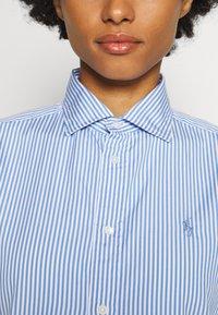 Polo Ralph Lauren - GEORGIA LONG SLEEVE - Hemdbluse - medium blue/white - 4