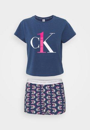 SHORT SET - Pyjama set - seashore blue