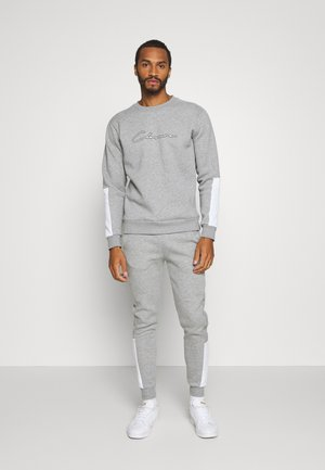 SCRIPT TRACKSUIT - Sweatshirt - grey