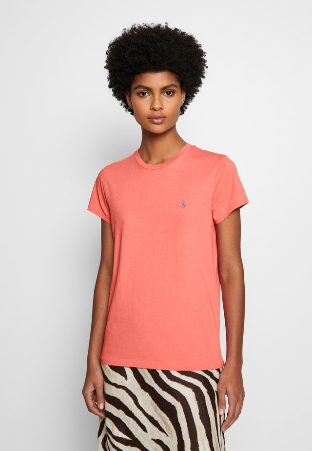 Basic T-shirt - amalfi red