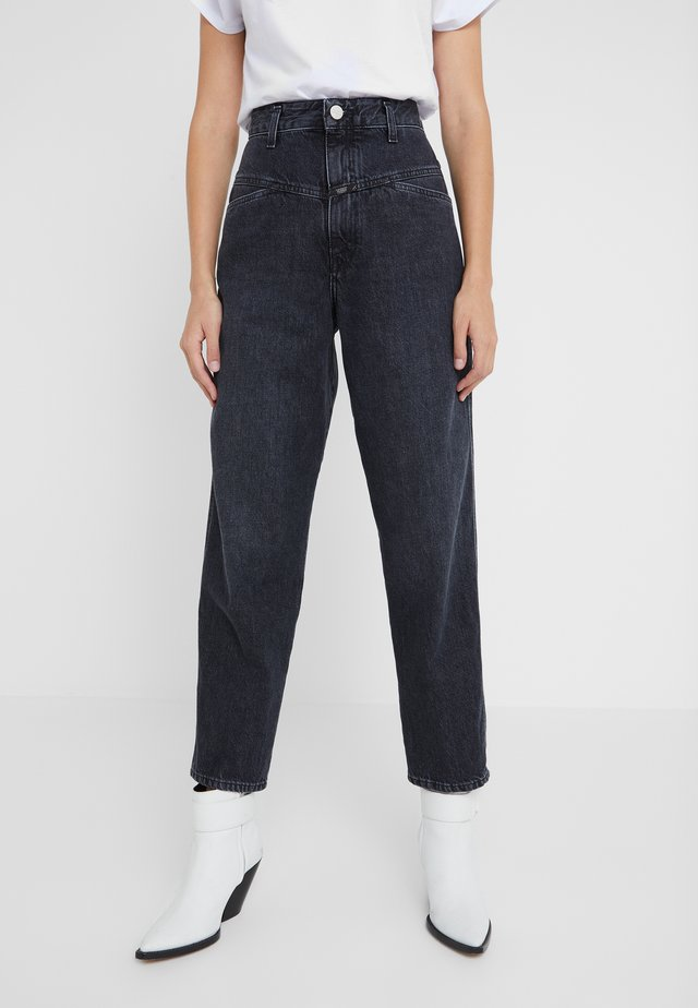 WORKER - Jeansy Relaxed Fit - dark grey