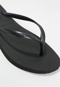 Havaianas - SLIM - Pool shoes - black - 6