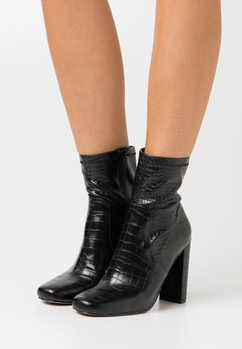 Call it Spring - SERENN - Ankelboots med høye hæler - black