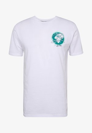 EARTH  - T-Shirt print - white