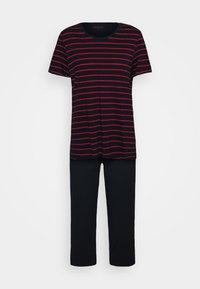 Schiesser - Pyjama - blau/rot - 0
