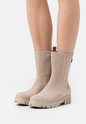 SHELBO - Classic ankle boots - beige