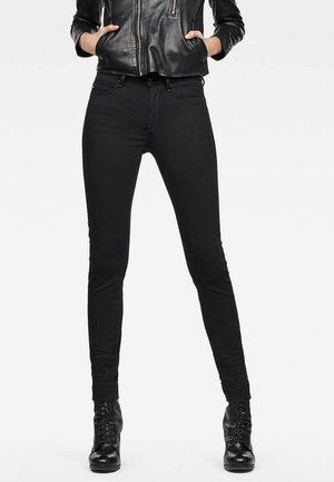 SHAPE HIGH SUPER SKINNY - Jeans Skinny Fit - black denim