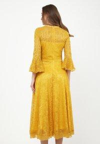 Madam-T - Cocktail dress / Party dress - gelb - 2