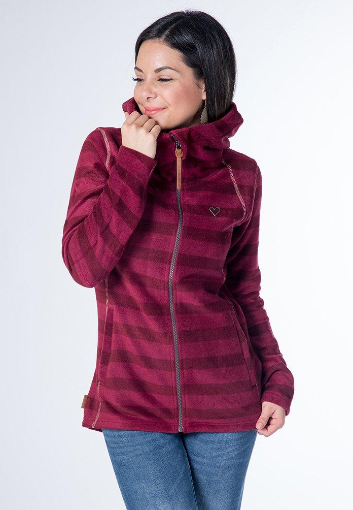 Alife Kickin Jessy Fleece Jacket Grape Blue Zalando De