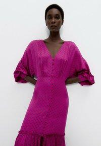 Uterqüe - Day dress - pink - 2
