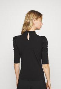 ONLY - ONLLIVE LOVE SCARLETT - Long sleeved top - black - 2