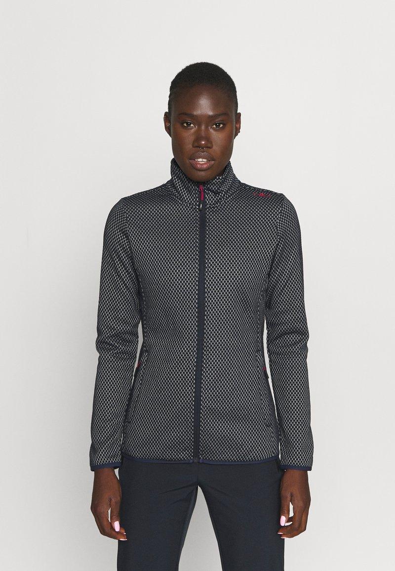CMP - WOMAN JACKET - Fleece jacket - blue/grey