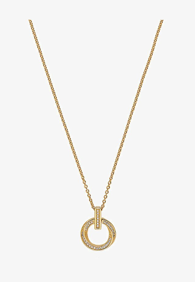 Necklace - yellow gold-colored