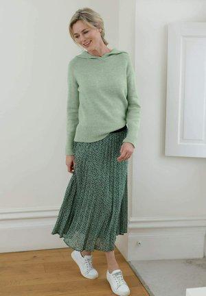 ROCK - A-line skirt - salbeigrün