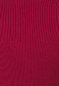 Farm Rio - PUFF SLEEVE TURTLENECK - Jumper - burgundy - 6