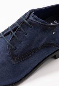 Bugatti - MANSUETO - Smart lace-ups - dark blue - 5