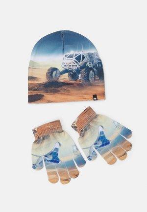 KAYA SET UNISEX - Gloves - blue