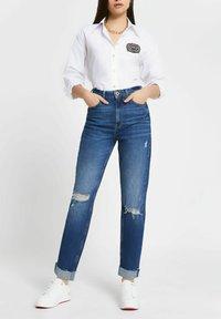 River Island - Straight leg jeans - blue - 1